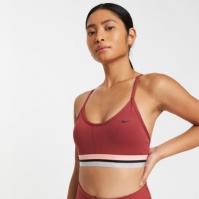 Bustiera sport Nike Indy Icon Clash pentru Dama rosu