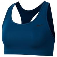 Bustiera sport Nike Swoosh Medium-Support pentru Dama albastru