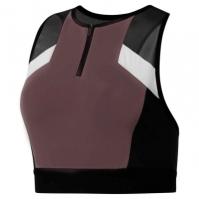 Bustiera sport Reebok Colour Block Cropped pentru Dama almost gri