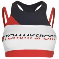 Bustiera sport Tommy Sport Tommy Strap Mid true rosu