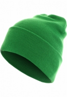 Caciula Beanie Basic Flap Long Version verde MasterDis