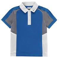 Tricouri Polo Callaway Block Golf pentru baietei electric albastru l