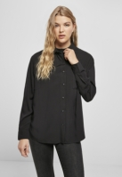 Camasa oversize vascoza pentru Dama negru Urban Classics