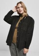 Camasa reiat oversized pentru Dama negru Urban Classics