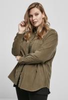 Camasa reiat oversized pentru Dama oliv Urban Classics