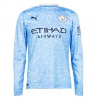 Camasi cu maneca lunga Puma Manchester City Acasa 2020 2021