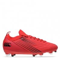 Ghete Canterbury Speed Pro SG Rugby pentru Barbat rosu negru