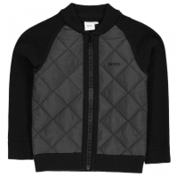 Cardigan Boss tricot negru 09b