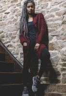 Cardigan lung tricot pentru Dama Urban Classics