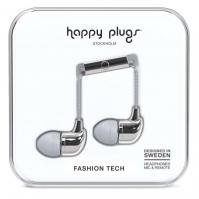 Casti Happy Plugs In Ear argintiu