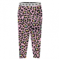 Colanti Hype roz Disco Leopard pentru Copil