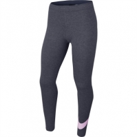 Colanti Nike Swoosh pentru fetite gri roz