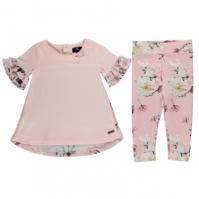 Colanti Set bebelusi Firetrap 2-Piece pentru fete lotus floral