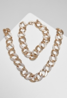 Colier Bratari Set Basic Diamond And auriu Urban Classics