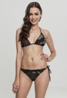 Costum de baie bikini Camo pentru Dama wood-camuflaj Urban Classics
