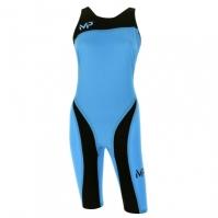 Costum de Inot Michael Phelps Xpresso Knee pentru Dama albastru negru