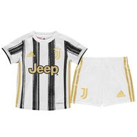 Costumase bebelusi cu echipe fotbal adidas Juventus 2020 2021 alb negru