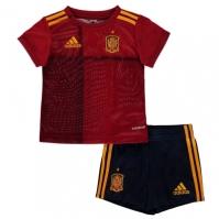Costumase bebelusi cu echipe fotbal adidas Spania 2020 rosu