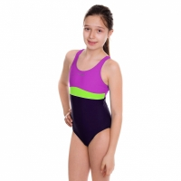 Costume Aqua-Speed Emily violet-lime 48 367 Copil