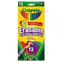 Creioane Crayola Erasable Coloured