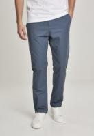 Pantaloni chino drepti cu curea albastru Urban Classics