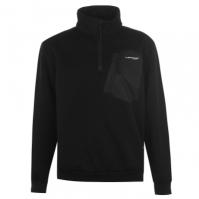 Dunlop tricot quarter cu fermoar pentru Barbat negru