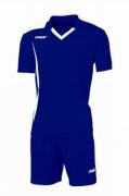 Echipament fotbal Monviso Blu Bianco Max Sport