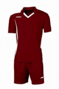 Echipament fotbal Monviso Bordeaux Bianco Max Sport