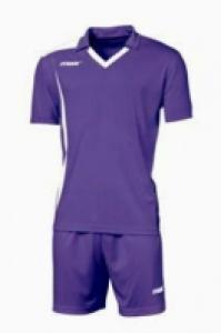 Echipament fotbal Monviso Viola Bianco Max Sport