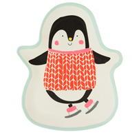 Farfurie Linea Linea Melamine Penguin