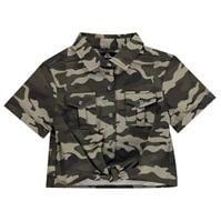 Firetrap Camo Shirt JnG03
