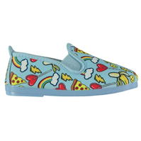 Flossy Divertido Slip On Plimsolls