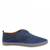 Frank Wright Loire Derby Shoes cobolt albastru