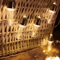 Garden Essentials Bulb String Lights