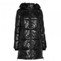Geaca matlasata DKNY Glossy pentru Dama negru
