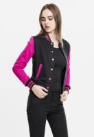 Jacheta doua culori College pentru Dama Urban Classics
