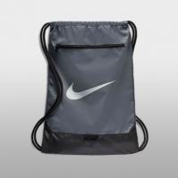 Geanta sport gri Nike Brasilia Unisex adulti