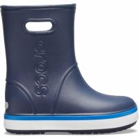 Ghete Crocs ploaie s For Crocband ploaie bleumarin 205827 4KB pentru Copil pentru Copil