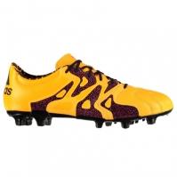 Ghete de fotbal adidas X 15.2 din piele FG pentru Barbat