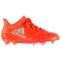 Ghete de fotbal adidas X 16.1 din piele FG pentru Barbat