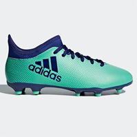 Ghete de fotbal adidas X 17.3 FG pentru Copil