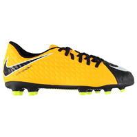Ghete de fotbal Nike Hypervenom Phade 3 FG pentru Copil