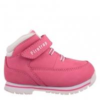 Ghete Firetrap Rhino pentru Bebelusi roz alb