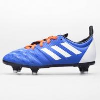 Ghete adidas Malice SG Rugby pentru Copil albastru alb r