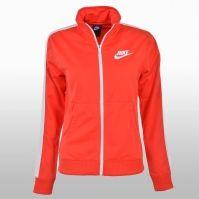 Bluza de trening portocalie cu fermoar Nike Dama