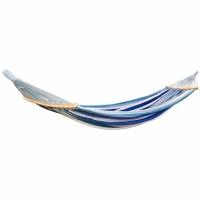 Hamac Garden 2 Ososbowy Luxe XXL 250x150 Cm albastru 1021201