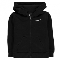 Hanorac Nike Club cu fermoar pentru Bebelusi negru