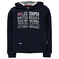 Hanorac Lee Cooper London cu fermoar pentru baietei