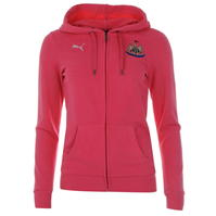 Hanorac Puma Newcastle United Football Club cu fermoar pentru Dama roz