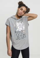 Hanorac Tom & Jerry fara maneci pentru Dama gri Merchcode